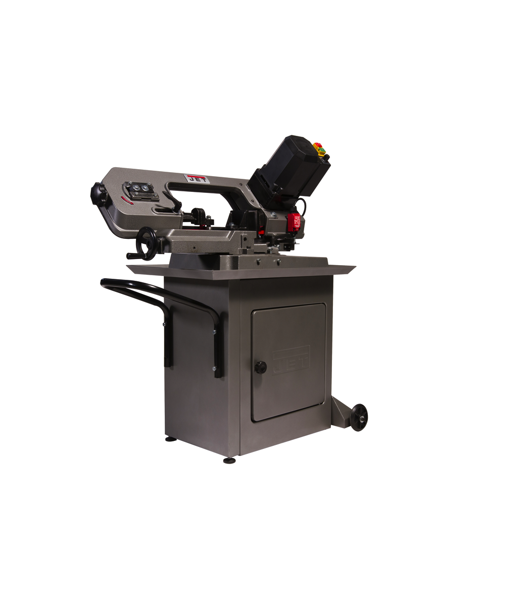 "Jet HBS-56MVS, Variable Speed, Mitering 5"" x 6"" Horizontal Bandsaw, .5HP 115V 414558"