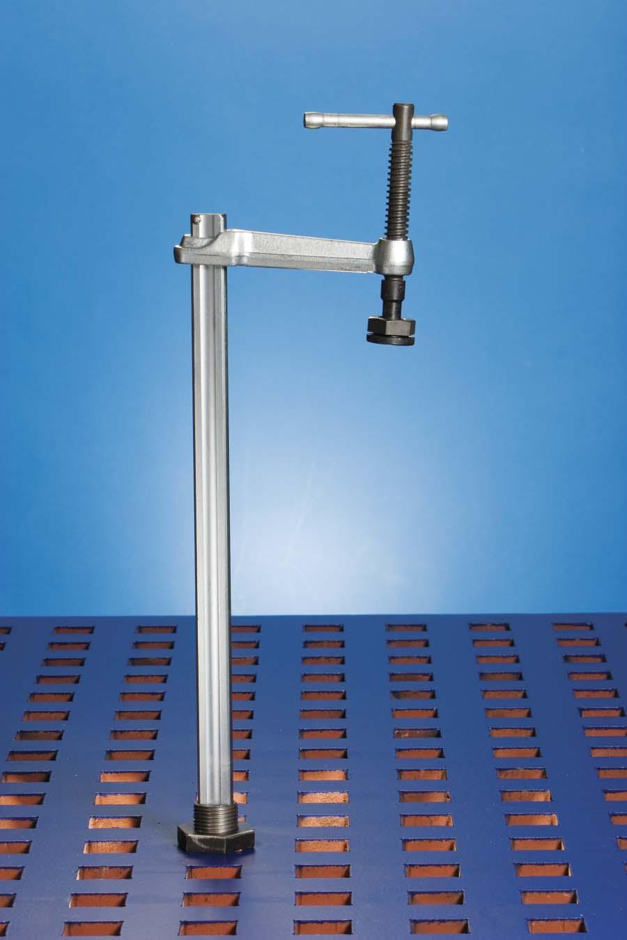 Weldsale 16 Quot Envelope Bolt Down Vertical Clamp Ws1713416