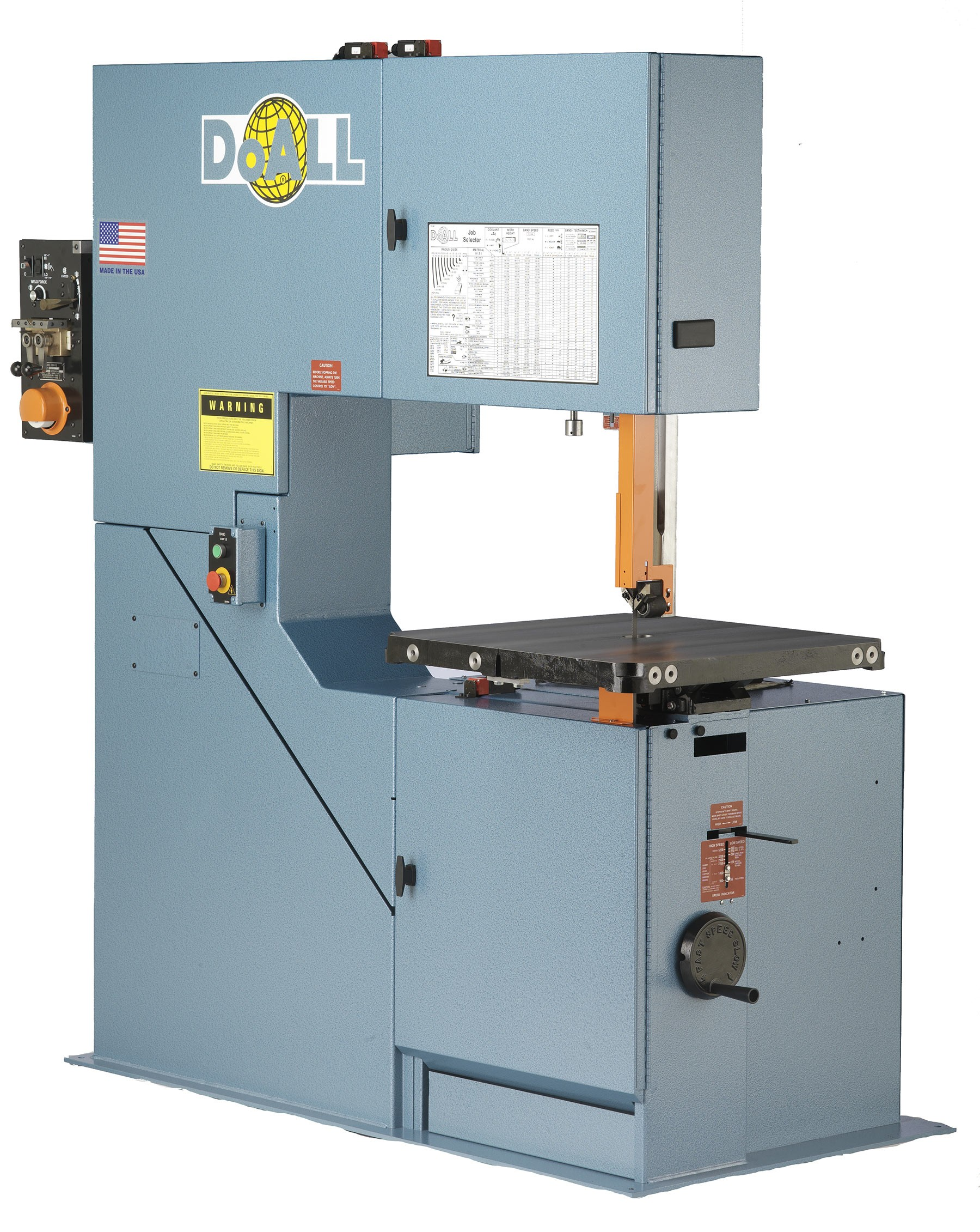 Vertical Concrete Saw Cutting Equipment : Doall vertical contour band saw v elite metal tools