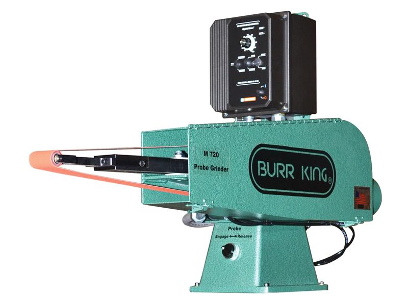 Burr King 2 X 72 Probe Belt Grinder Model 720 Elite