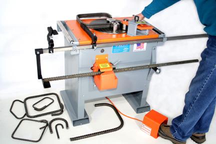 Fascut Rebar Bender Cutter Combo Fr 800 C Elite Metal Tools