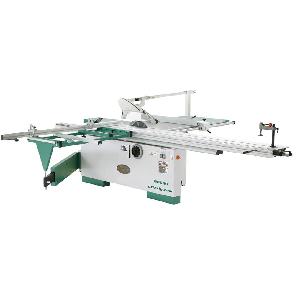 Grizzly Industrial 12 7 1 2 Hp Three Phase Sliding Table