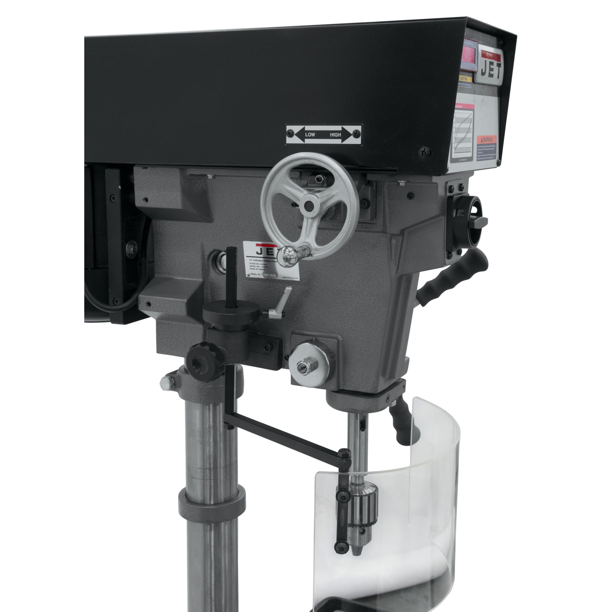 Jet J A5816 15 Quot Variable Speed Floor Model Drill Press