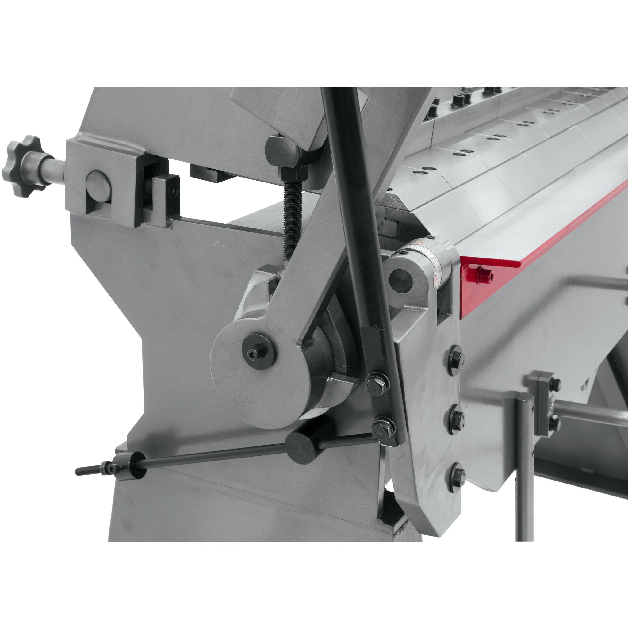 """Metallic Water Jet Supply Belarus: Jet BPF-1248, 48"""" X 12 Gauge Floor Model Box And Pan Brake"""