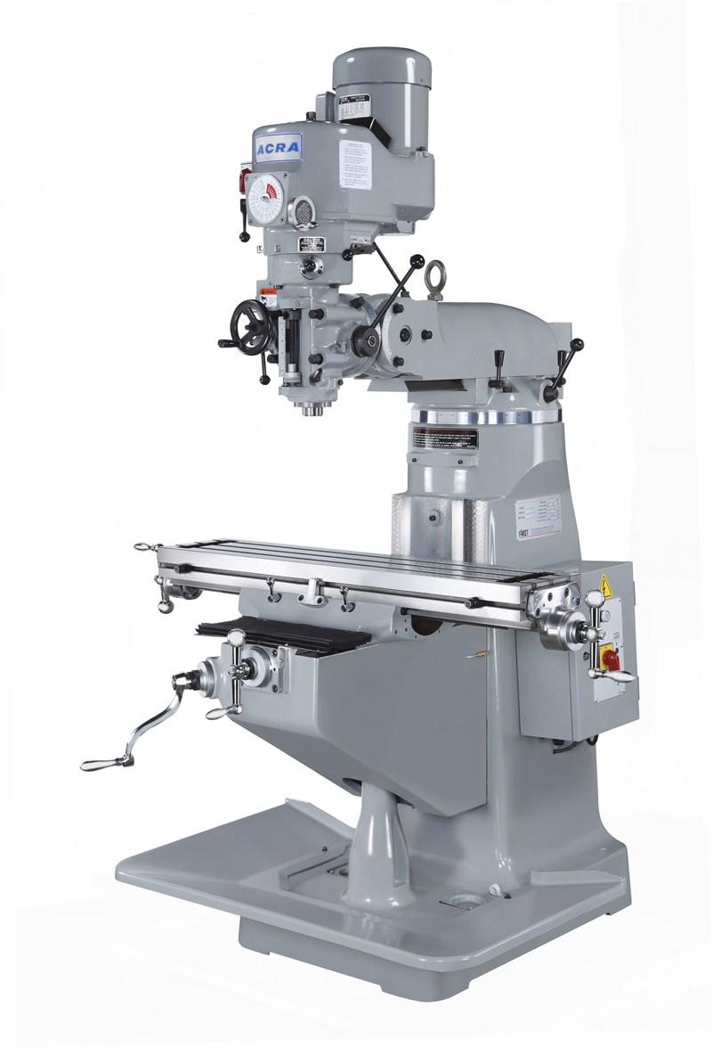 Acra Variable Speed Vertical Mill Lcm 50 Elite Metal Tools