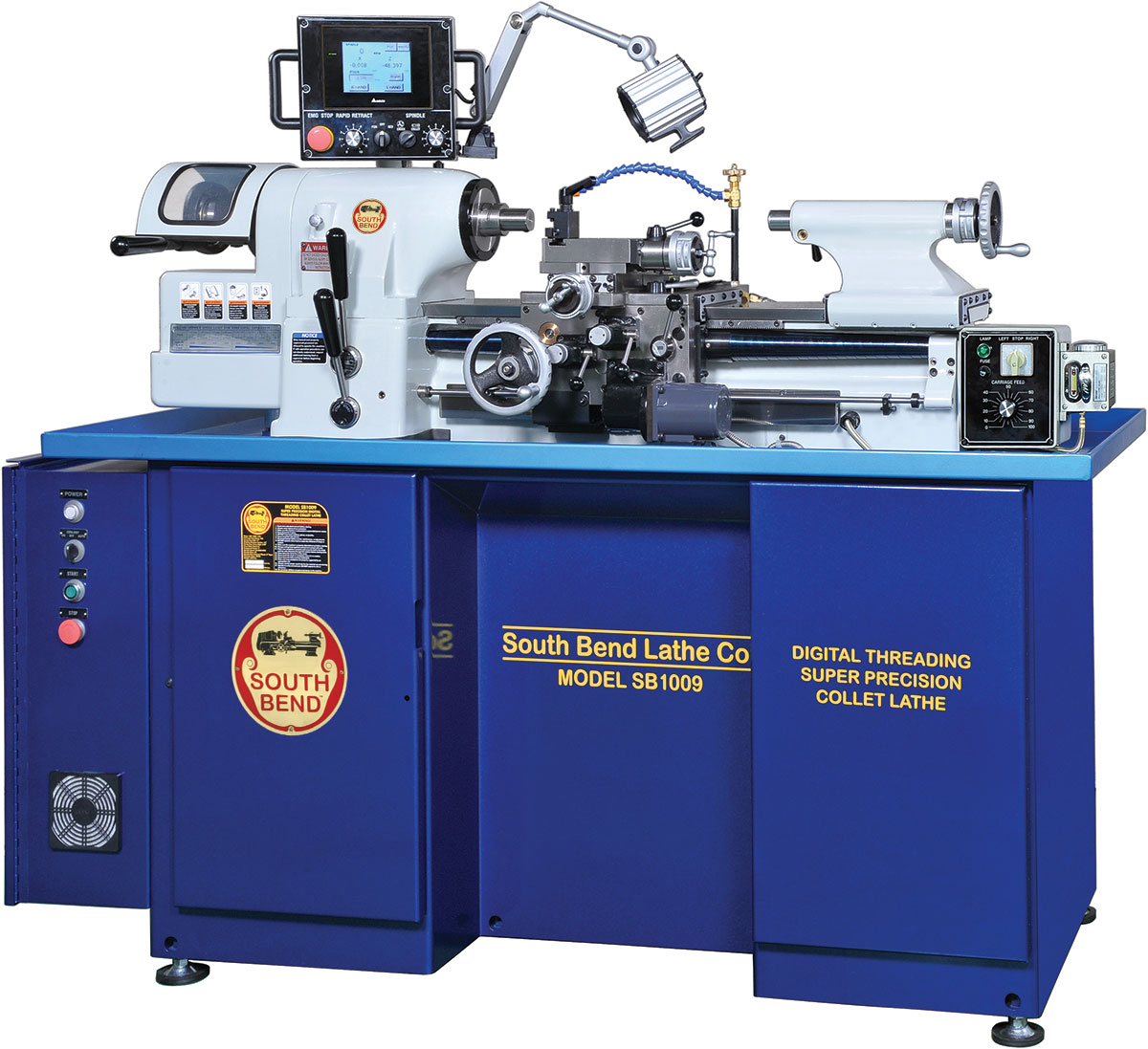 South Bend Super Precision Threading Collet Lathe Sb1009