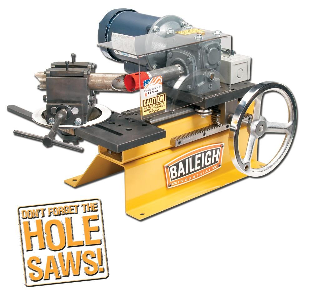sc 1 st  Elite Metal Tools & Baileigh Pipe Notcher TN-300 | Elite Metal Tools