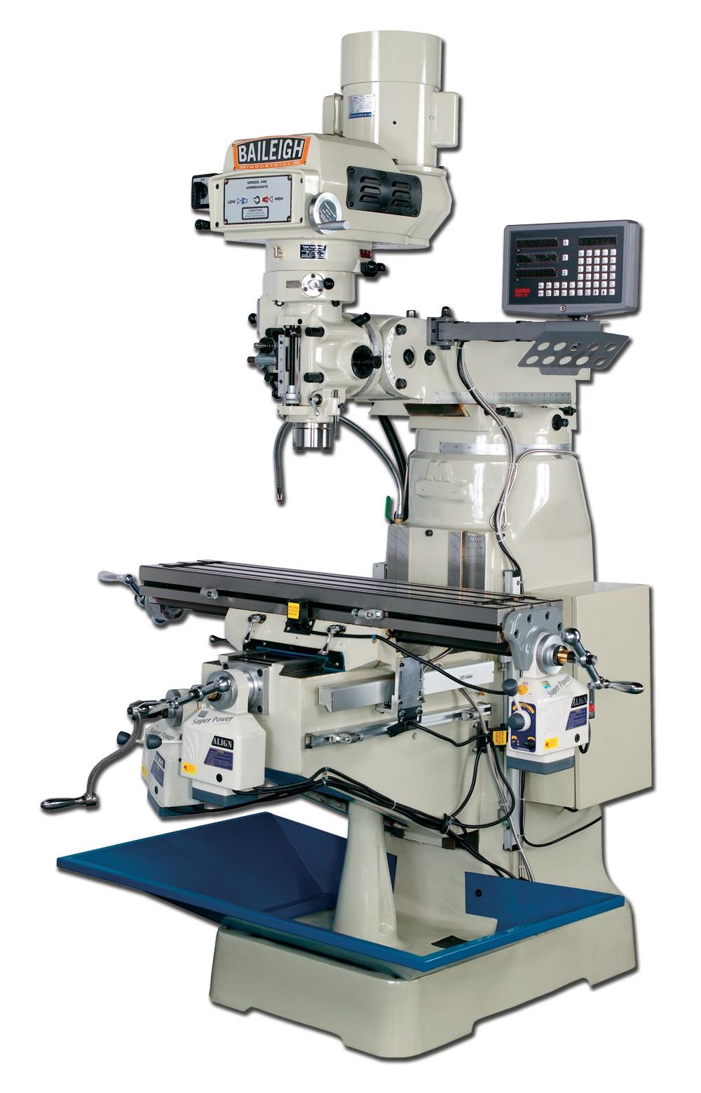 baileigh vertical milling machine vm 942 1 elite metal tools