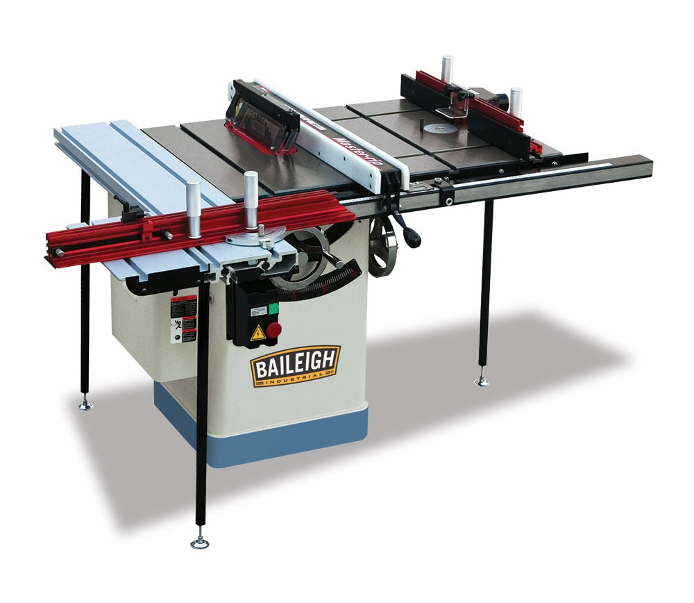 Baileigh Work Station Table Saw Ts 1020ws Elite Metal Tools