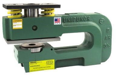 Unipunch 12ah 3 1 2 Round Punching Unit 2501